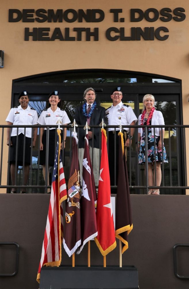 U.S. Army Health Clinic Dedicated in Honor of Cpl. Desmond Doss